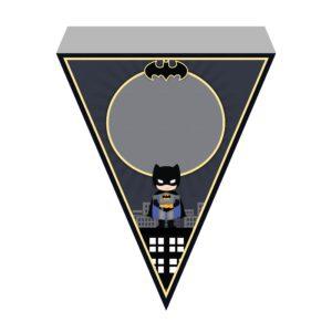 Bandeirinhas de Letras Batman Grátis
