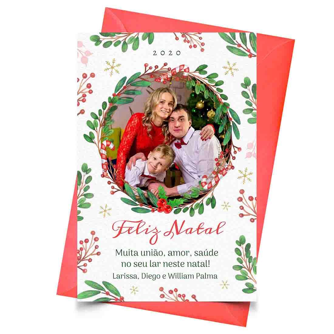 Cartão Natal Personalizado