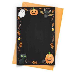 Convite Halloween Personalizado