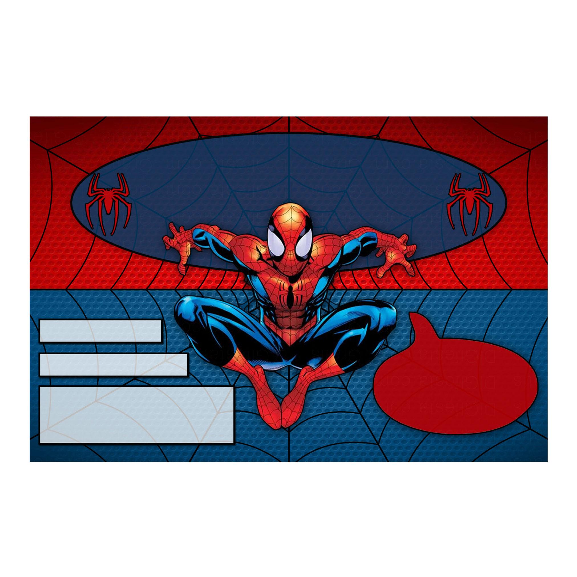 Convite Homem-Aranha Grátis