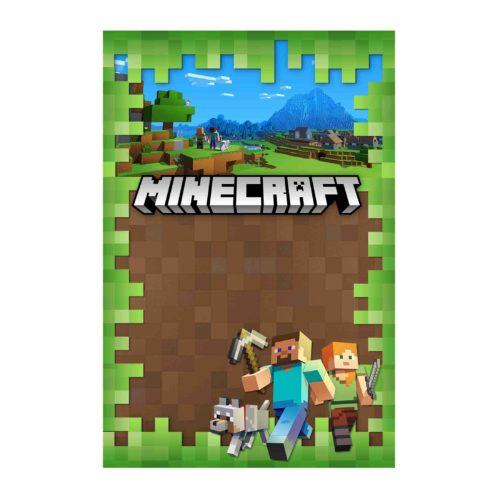 Convite Minecraft Gratis