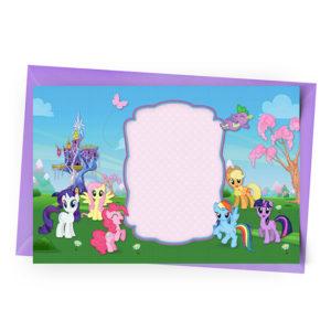 Convite My Little Pony Personalizado