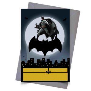 Convite Personalizado Batman 1