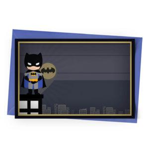 Convite Personalizado Batman