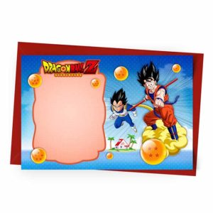 Convite Personalizado Dragon Ball