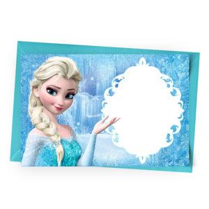Convite Personalizado Frozen