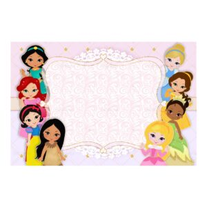 Convite Princesas Grátis