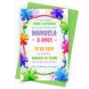 Convite Slime Personalizado 1