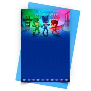 PJ Masks Convite Personalizado 1