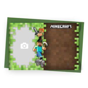 Personalizar Convite Minecraft