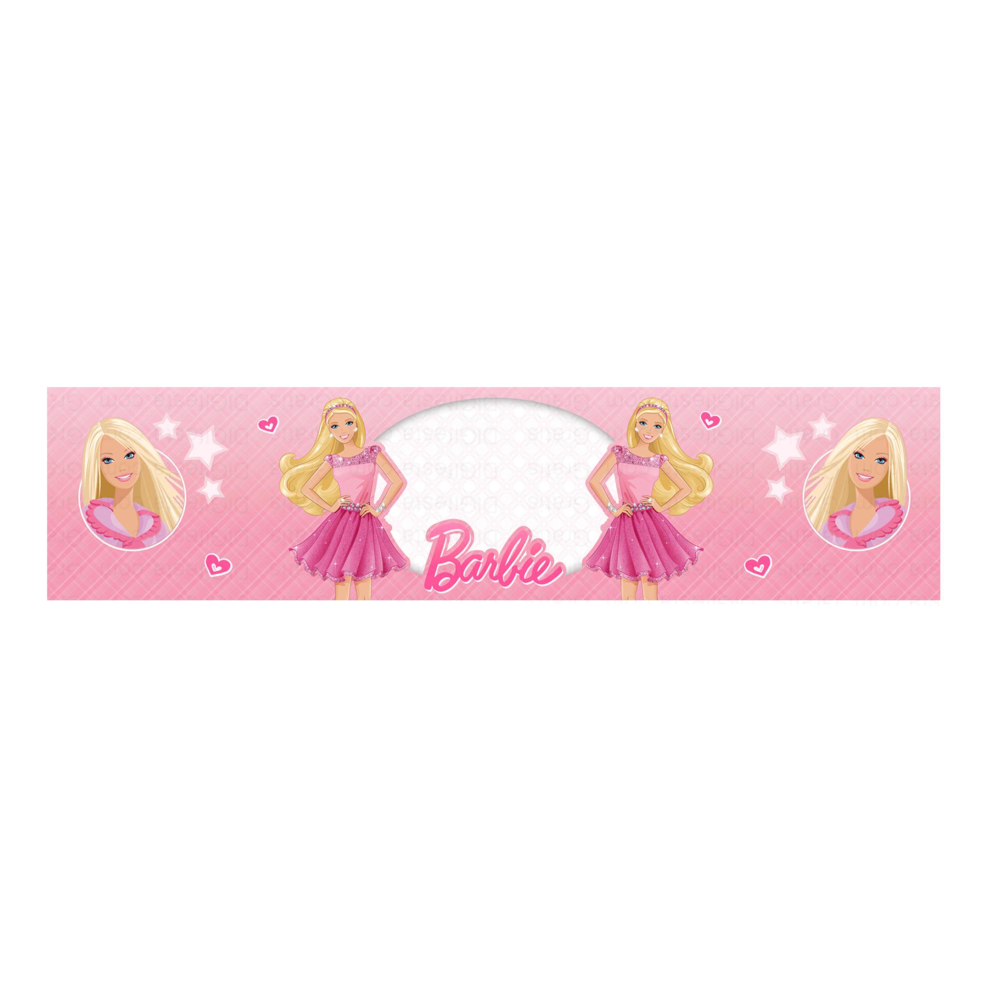 Rótulo Barbie Grátis