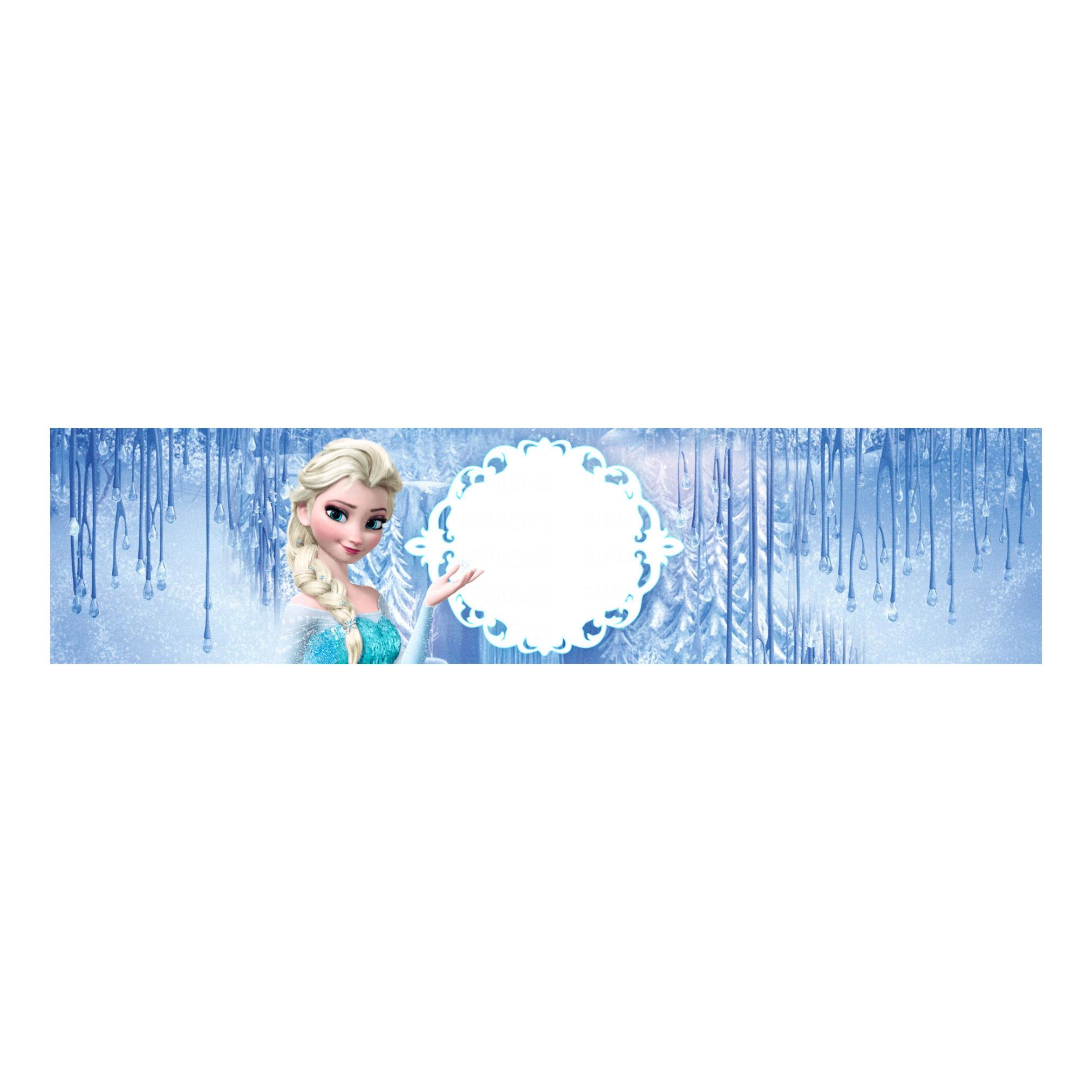 Rótulo Frozen Grátis