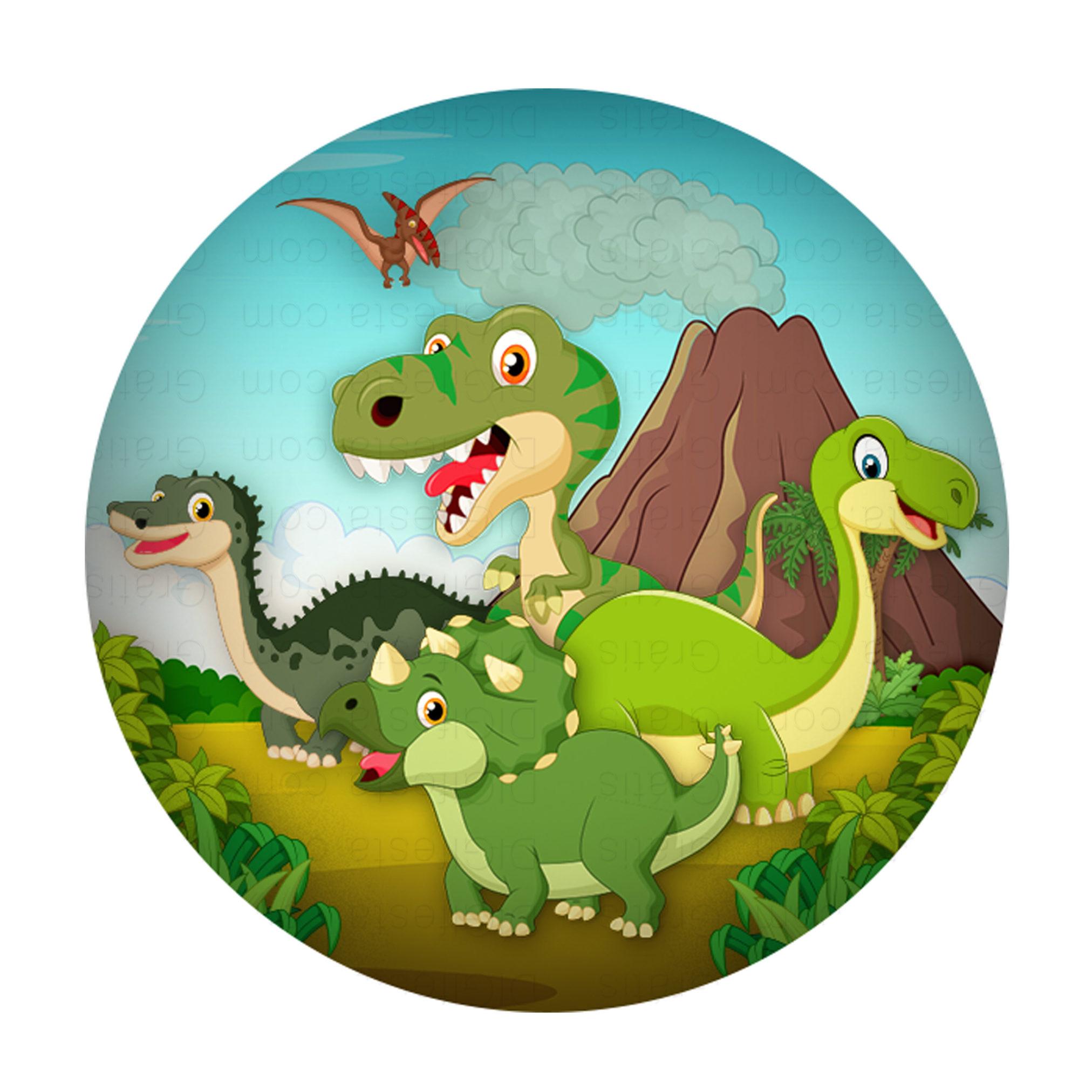 вафельная картинка динозавры драконы самые
