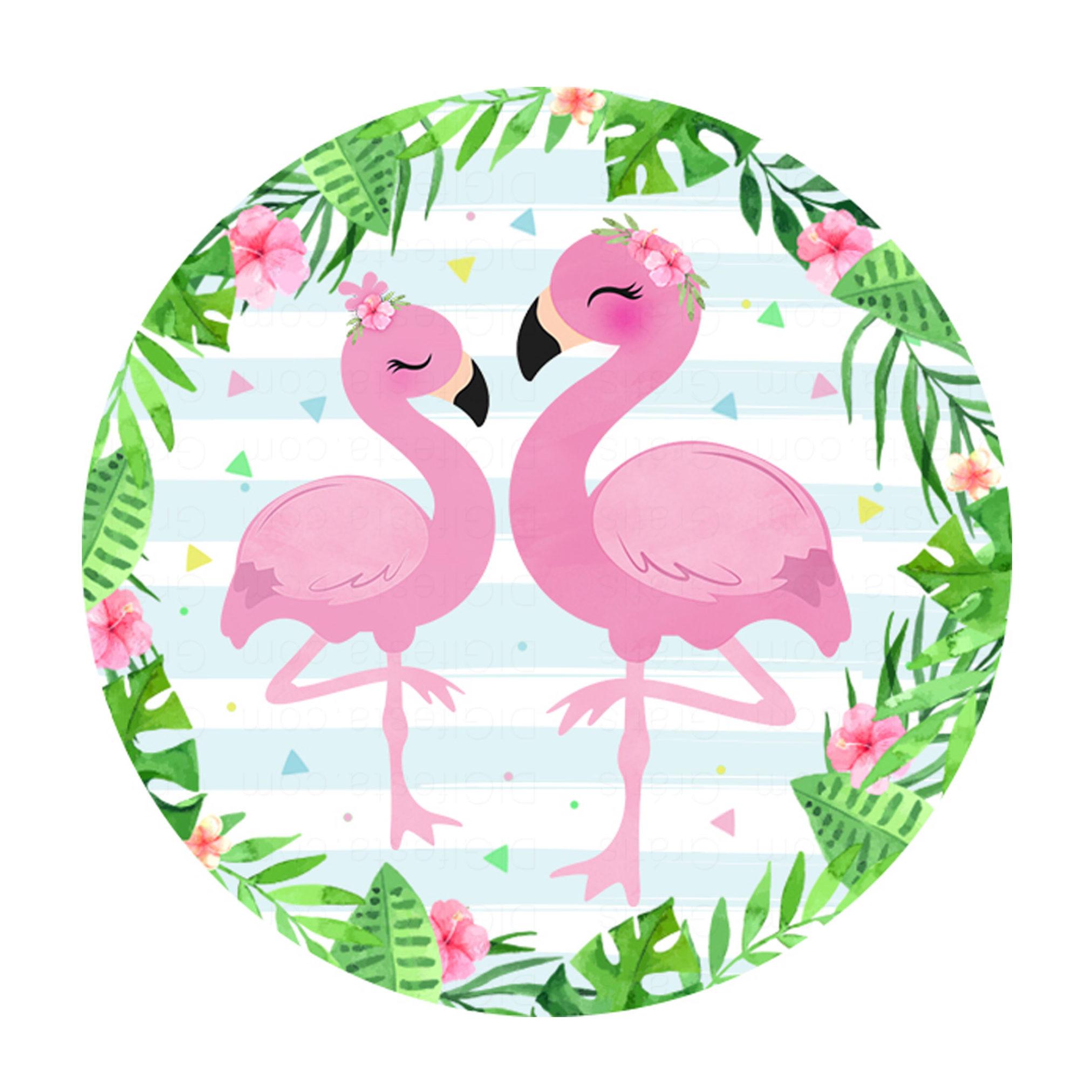 Convite Flamingo Gratis Para Baixar Modelo Diy Ou Para Editar Online