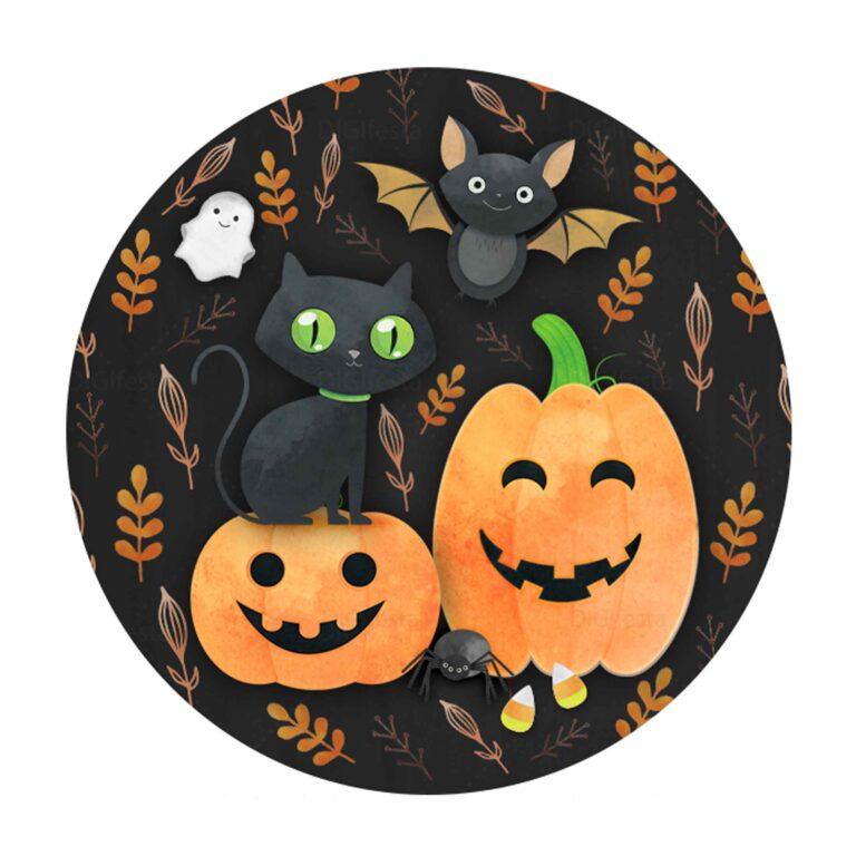 Rodelinha Halloween Grátis