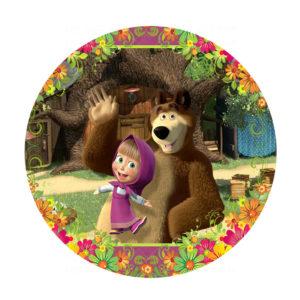Rodelinha Masha e Urso Grátis
