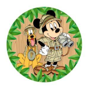 Rodelinha Mickey Safari gratis