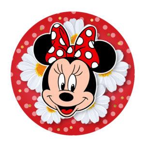 Rodelinha Minnie Vermelha Grátis