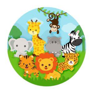 Rodelinha Safari Grátis