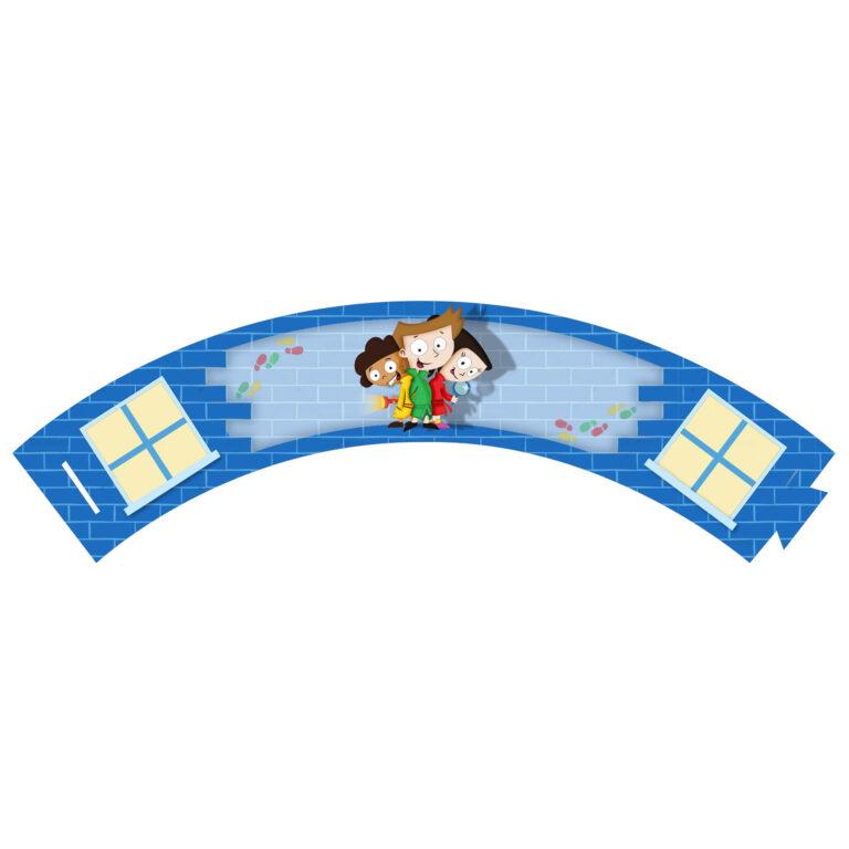 Saia de Cupcake Detetives do Prédio Azul Grátis