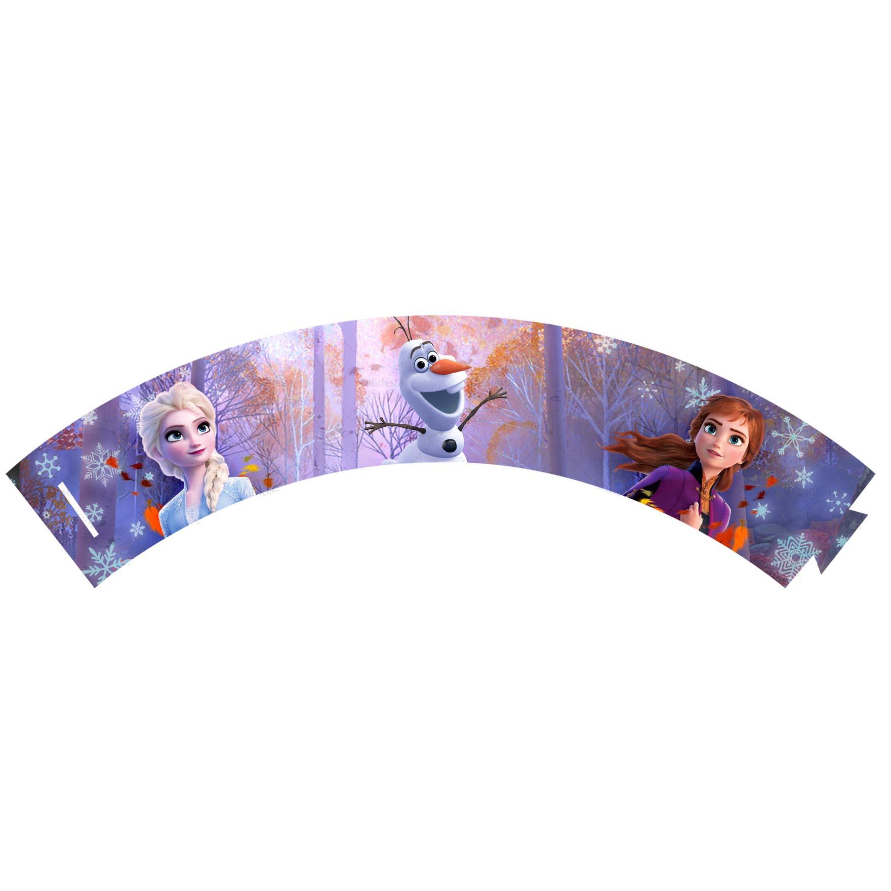 Saia de Cupcake Frozen 2 Grátis