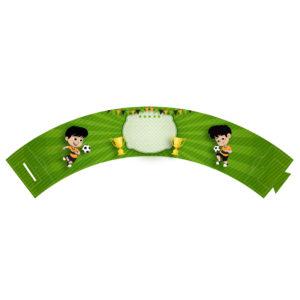 Saia de Cupcake Futebol Grátis