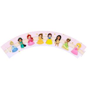 Saia de Cupcake Princesas Grátis