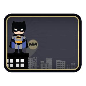 Tampa de Marmitinha Batman Grátis