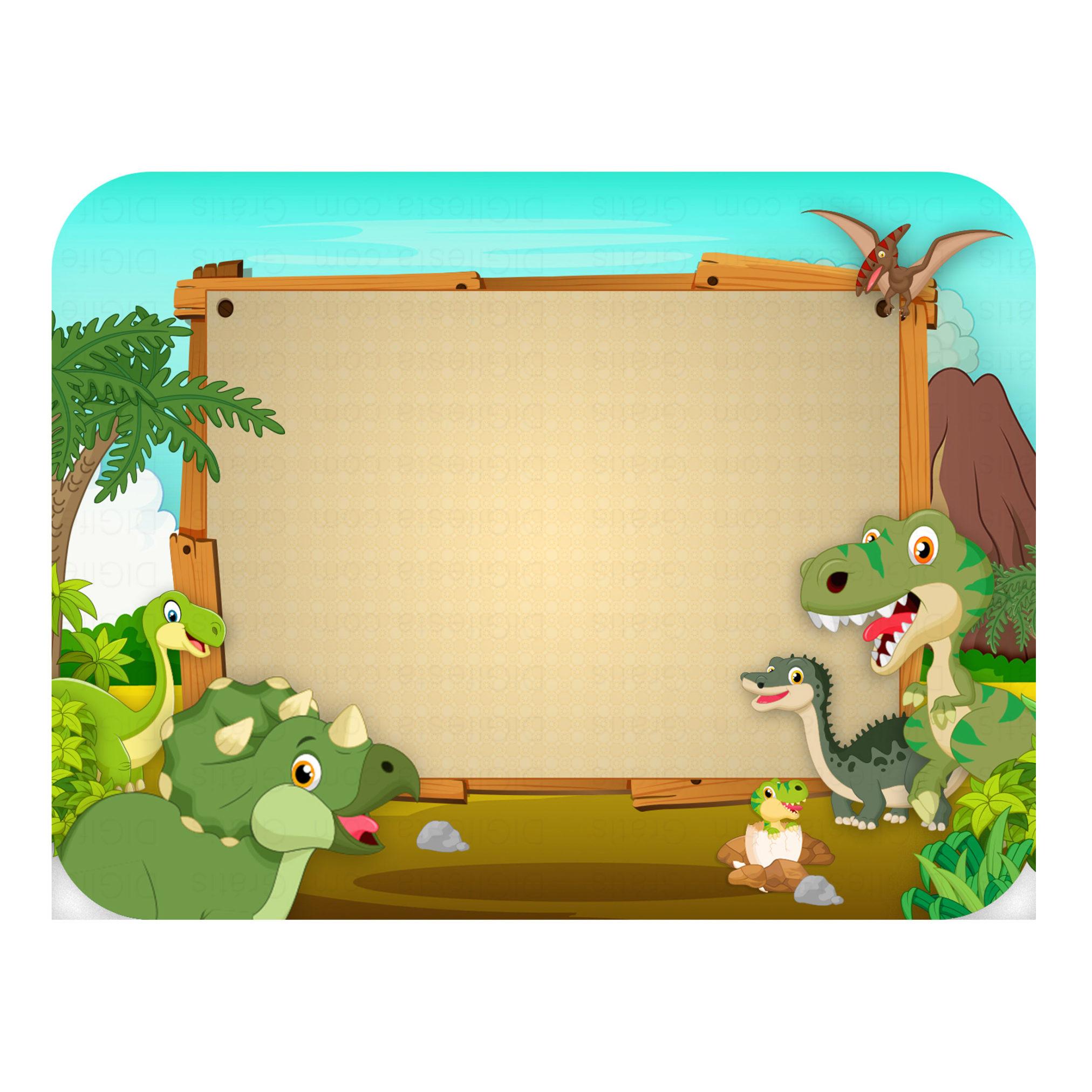 Tampa de Marmitinha Dinossauros Grátis