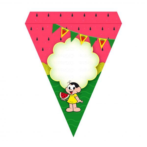 Bandeirinha de Letras Magali Grátis