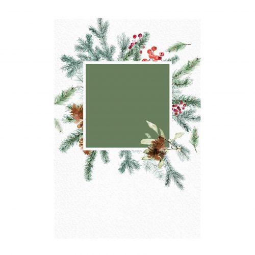 Cartão de Natal para editar Grátis