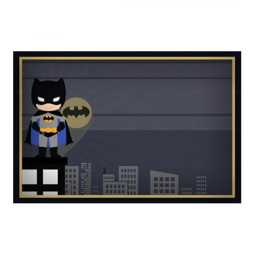 Convite Batman Gratis Para Editar E Imprimir Artes Personalizados
