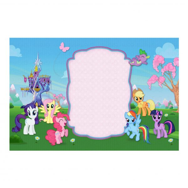 Convite My Little Pony Grátis