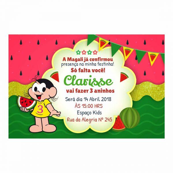 Convite Personalizado Magali