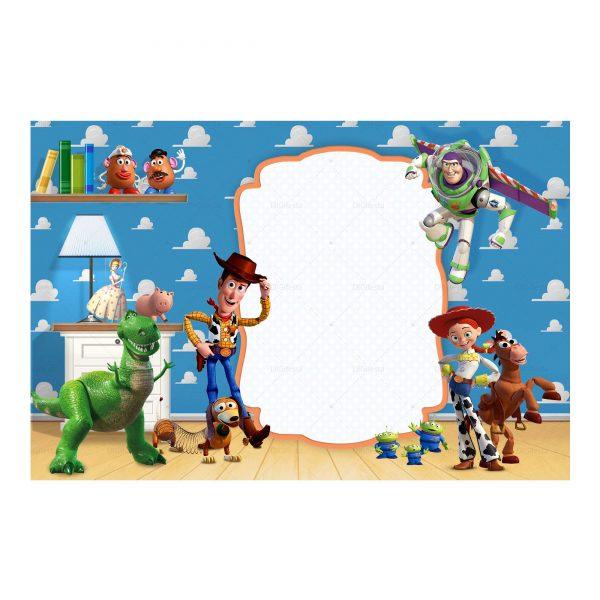 Convite Toy Story Grátis
