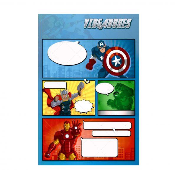 Convite Vingadores Gratis Para Editar E Imprimir Kit Digital