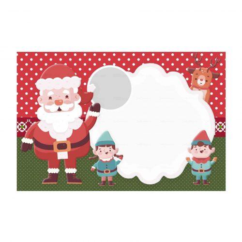 Convite de Natal para Editar Grátis Para Editar