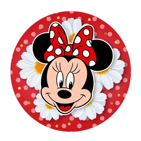 Convite Minnie Vermelha Grátis Para Editar E Imprimir Personalizados
