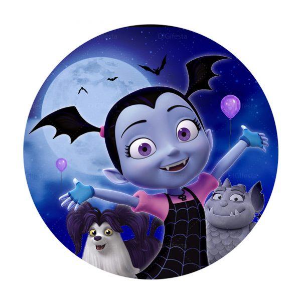 Rodelinha Vampirinha Grátis - Convite Vampirina Grátis