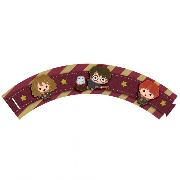 Saia de Cupcake Harry Potter Grátis