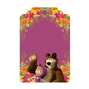 Tag Masha e Urso Grátis