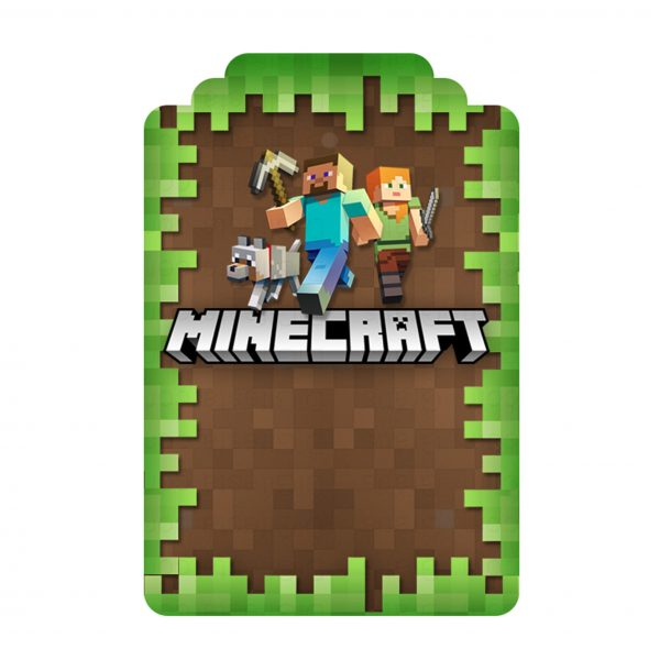 Convite Minecraft Gratis Para Editar E Imprimir Kit Digital Para