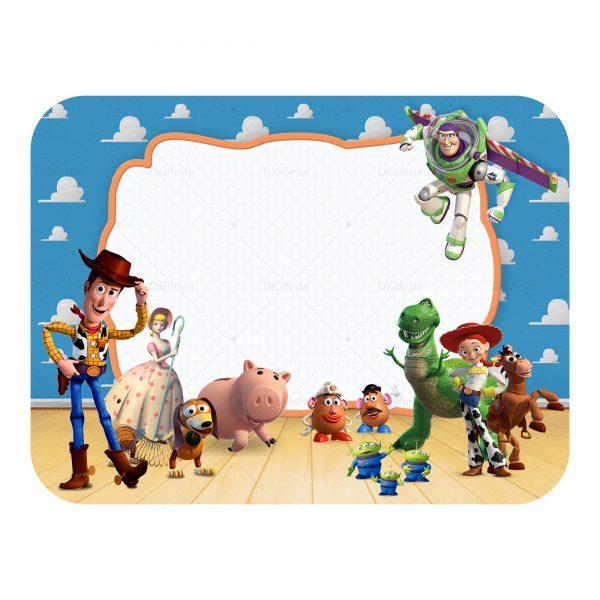 Tampa de Marmitinha Toy Story Grátis.
